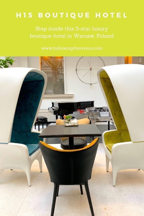 H15 Boutique Hotel - a Warsaw luxury stay 12