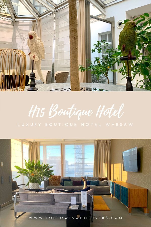 H15 Boutique Hotel - a Warsaw luxury stay 10