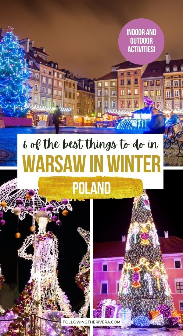 Things to do in Warsaw - Christmas lights