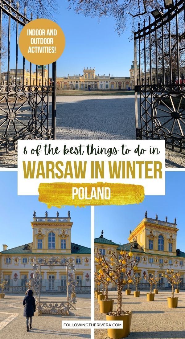 Things to do in Warsaw - Wilanow Palace