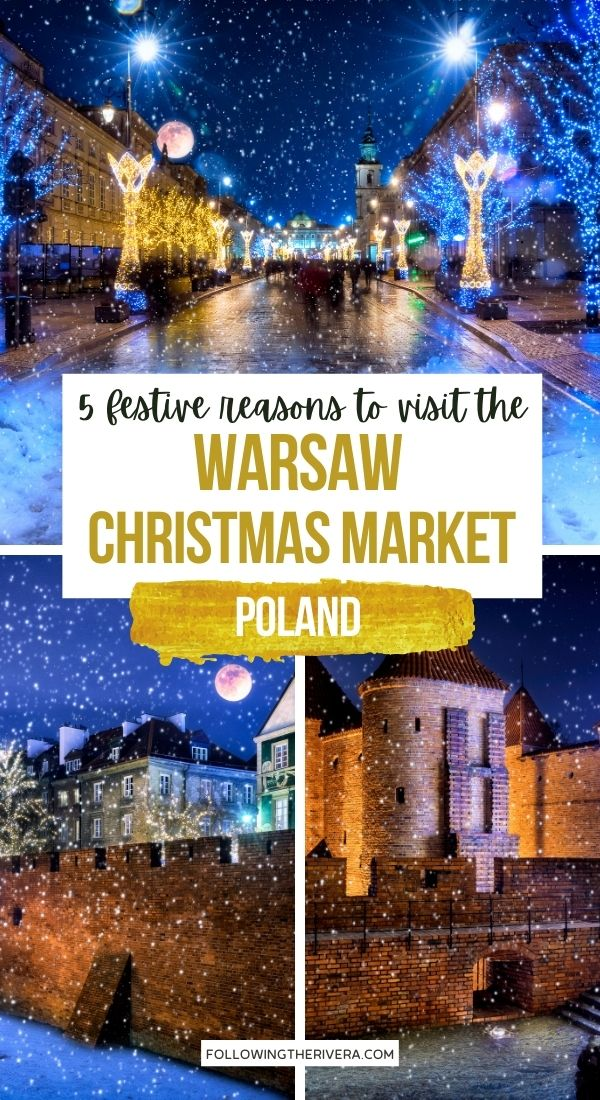 Photos of the Warsaw Christmas market