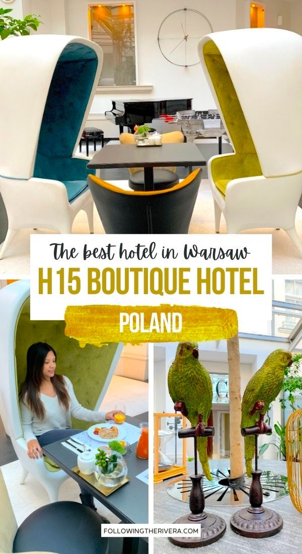 Breakfast lobby at H15 Boutique Hotel - best hotel in Warsaw