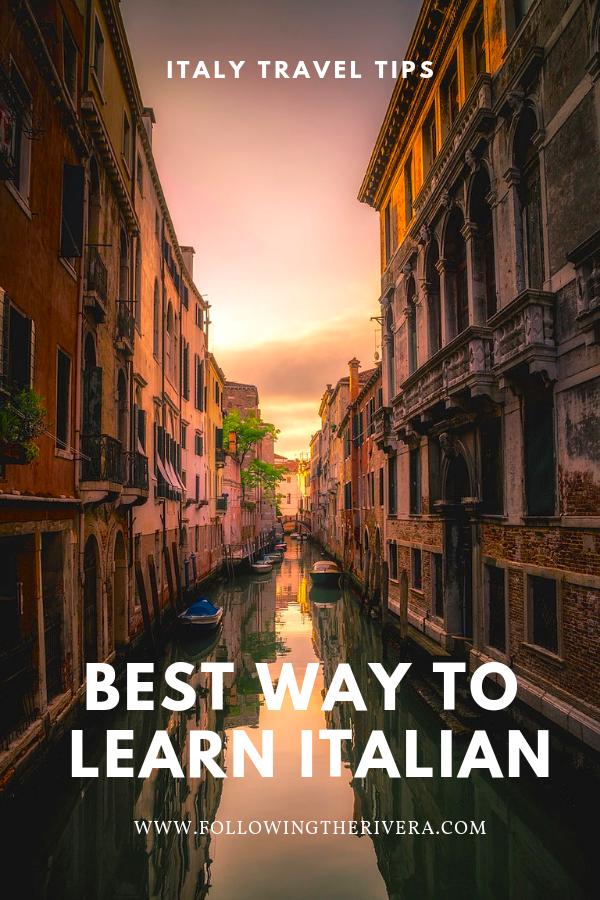 5 best ways to learn Italian 8