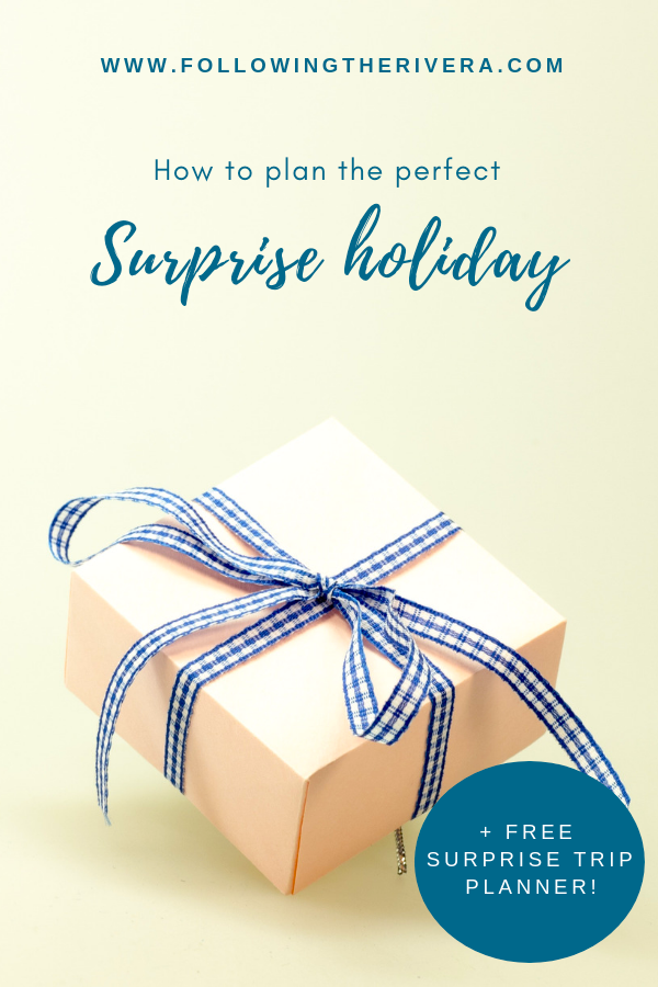 How to plan the best surprise holiday 10