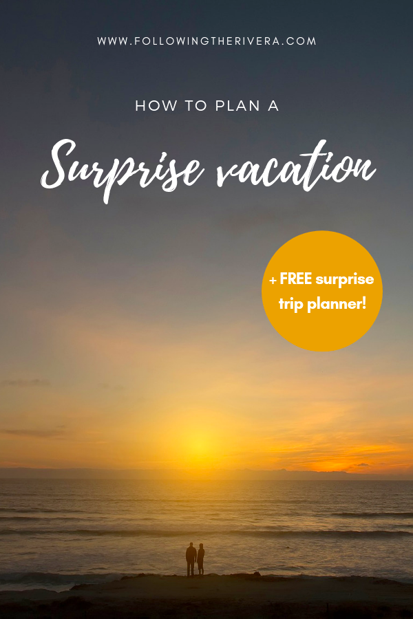 How to plan the best surprise holiday 9