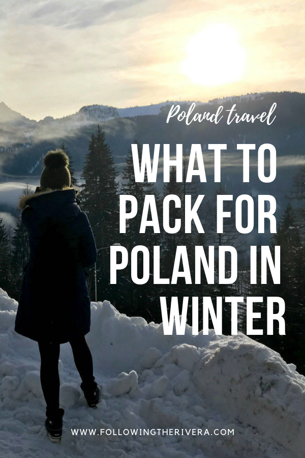 What to pack for Poland in winter 10