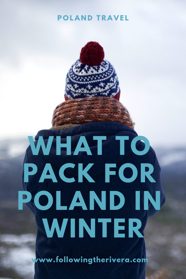 What to pack for Poland in winter 9