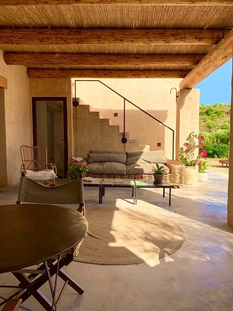 Clubhouse outside - Glamping in Sicily