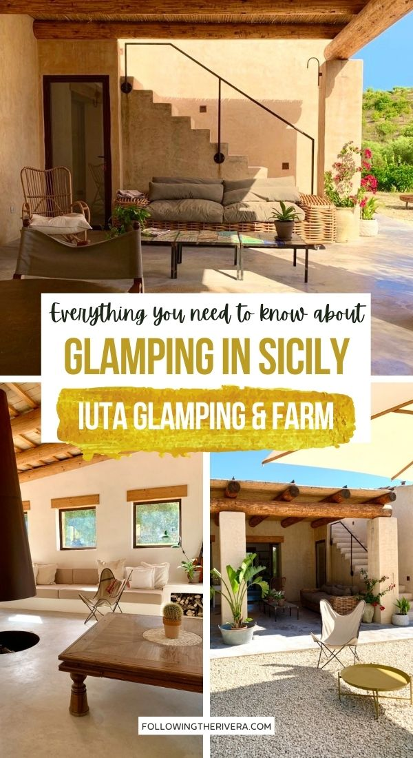 IUTA Glamping & Farm Clubhouse - glamping in Sicily