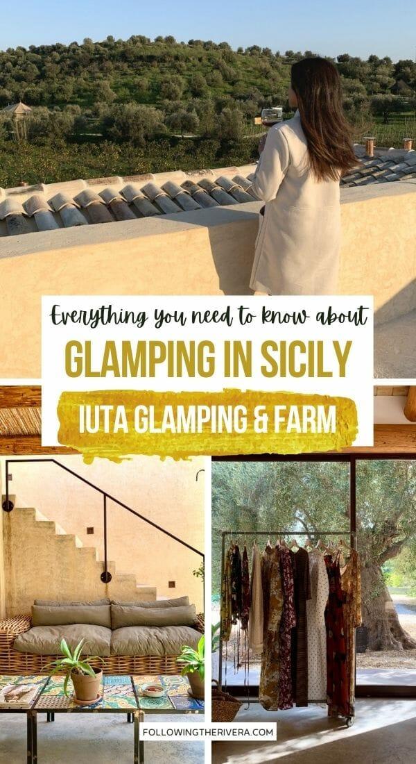 IUTA Glamping & Farm view - glamping in Sicily