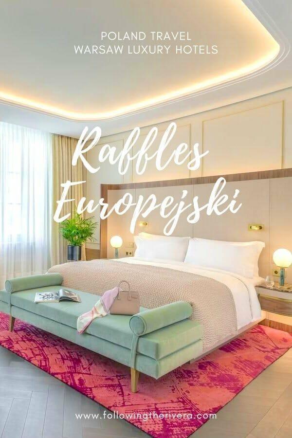 Raffles Europejski - a luxury hotel in Warsaw 10