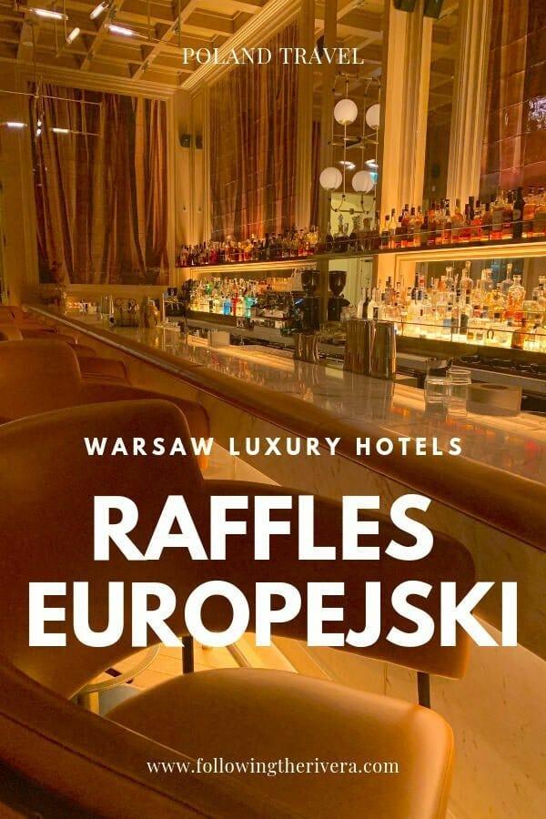 Raffles Europejski - a luxury hotel in Warsaw 11