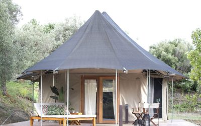Glamping in Sicily at IUTA Glamping & Farm