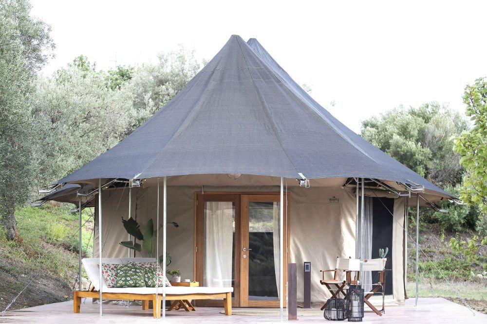 A glamping experience in Sicily at IUTA Glamping & Farm Sicily