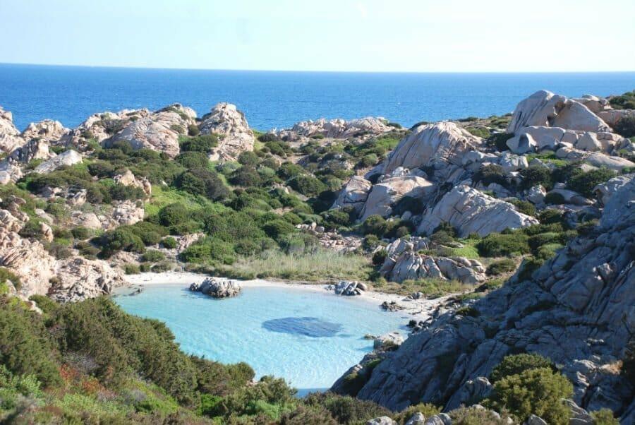 Caprera Cala Napoletana La Maddalenna - Best places for photography in Sardinia