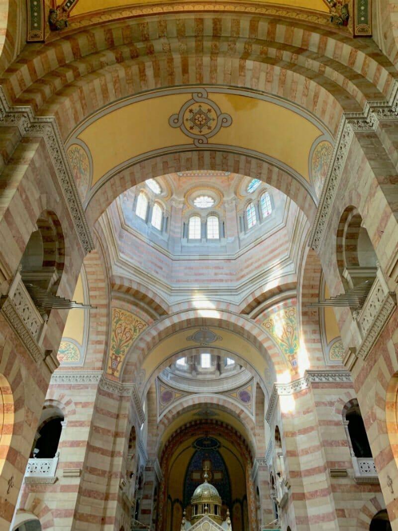 Marseille weekend - Marseille Cathedral interior
