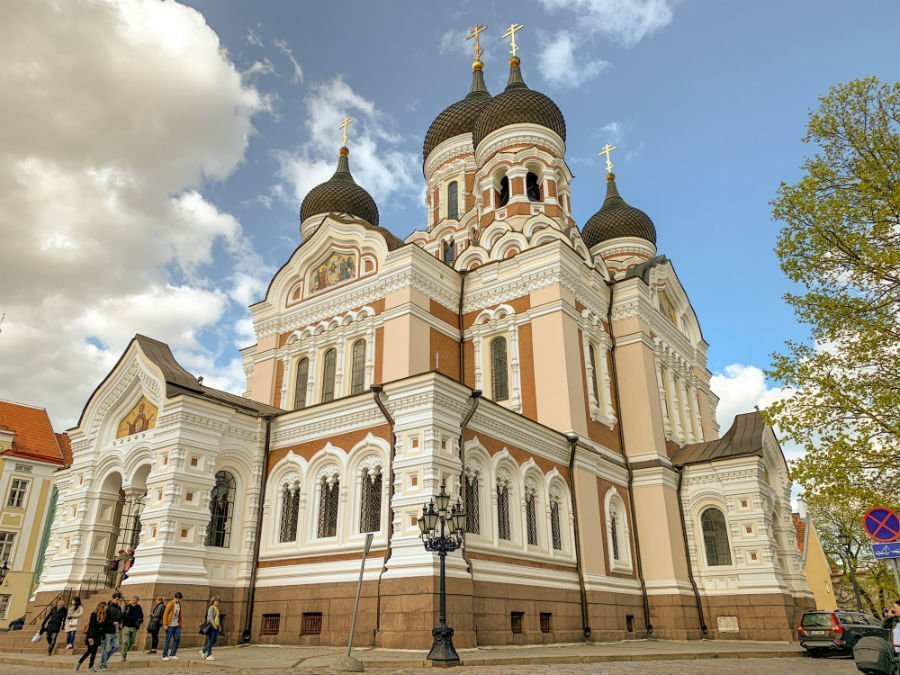 Alexander Nevsky Cathedral - free things to see in Tallinn