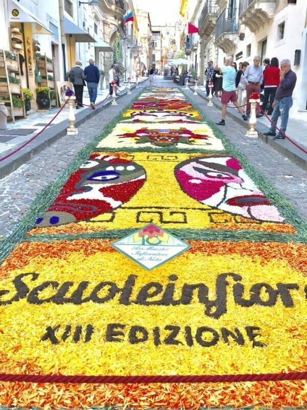 Infiorata di Noto — the annual flower festival in Noto, Sicily 2