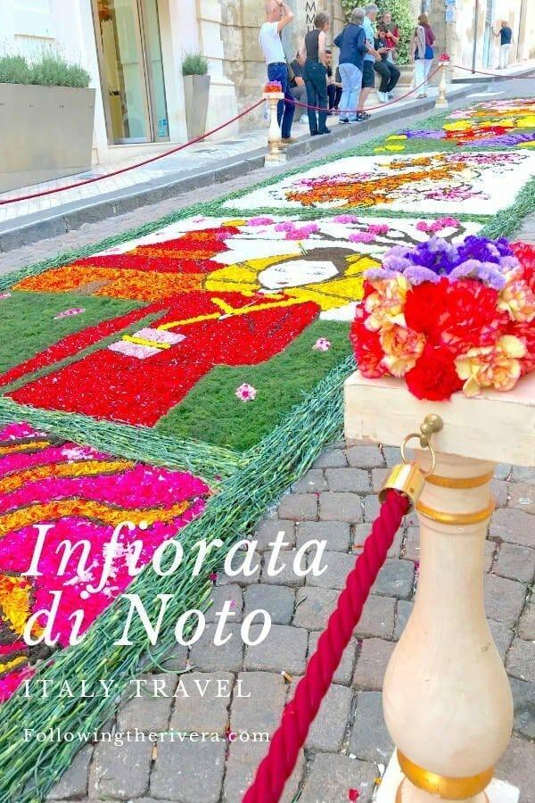Infiorata di Noto — the annual flower festival in Noto, Sicily 6