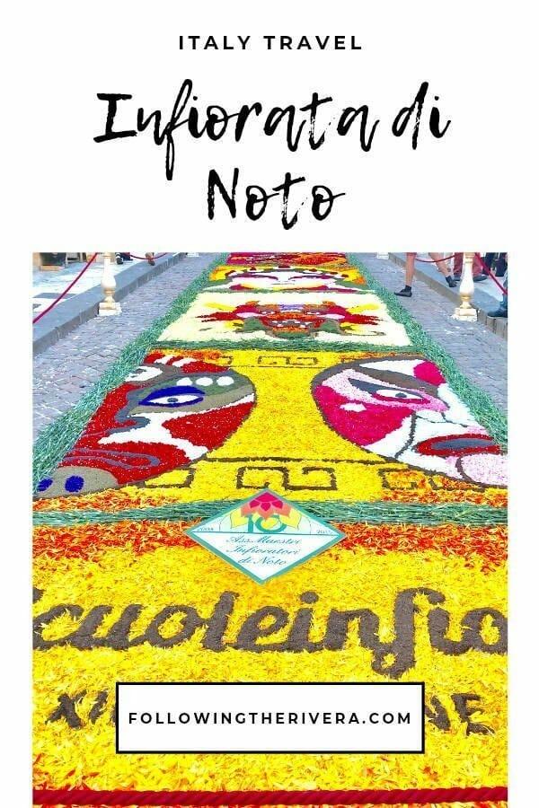 Infiorata di Noto — the annual flower festival in Noto, Sicily 7