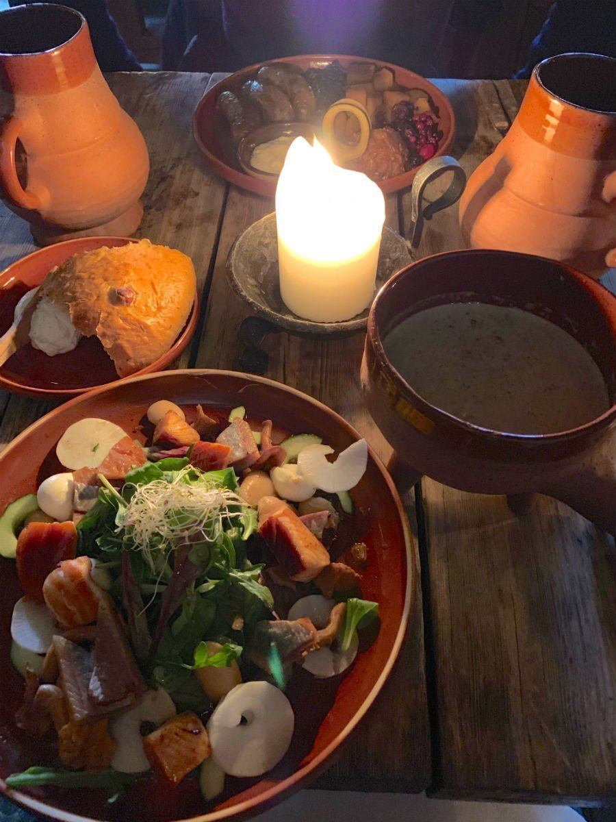 Eat medieval at Olde Hansa - what to do in Tallinn