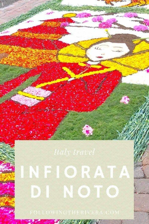 Infiorata di Noto — the annual flower festival in Noto, Sicily 5