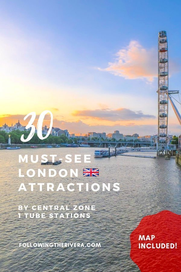 30 sights to see in London by zone 1 tube stations 20