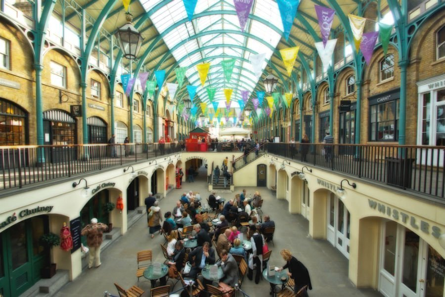 Zone 1 London attractions - Covent Garden