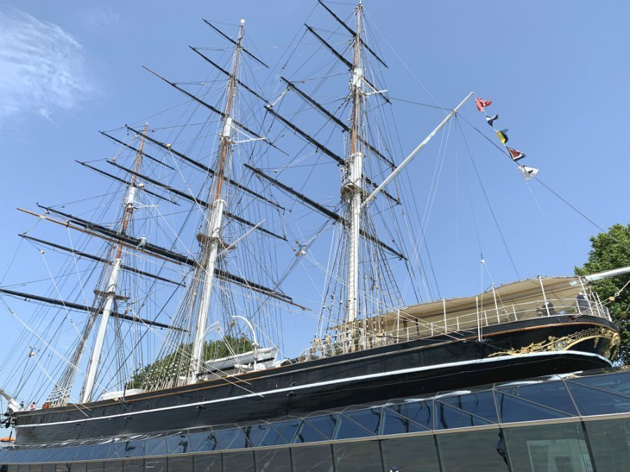 Tea drinking, eating and learning on board the Cutty Sark 1