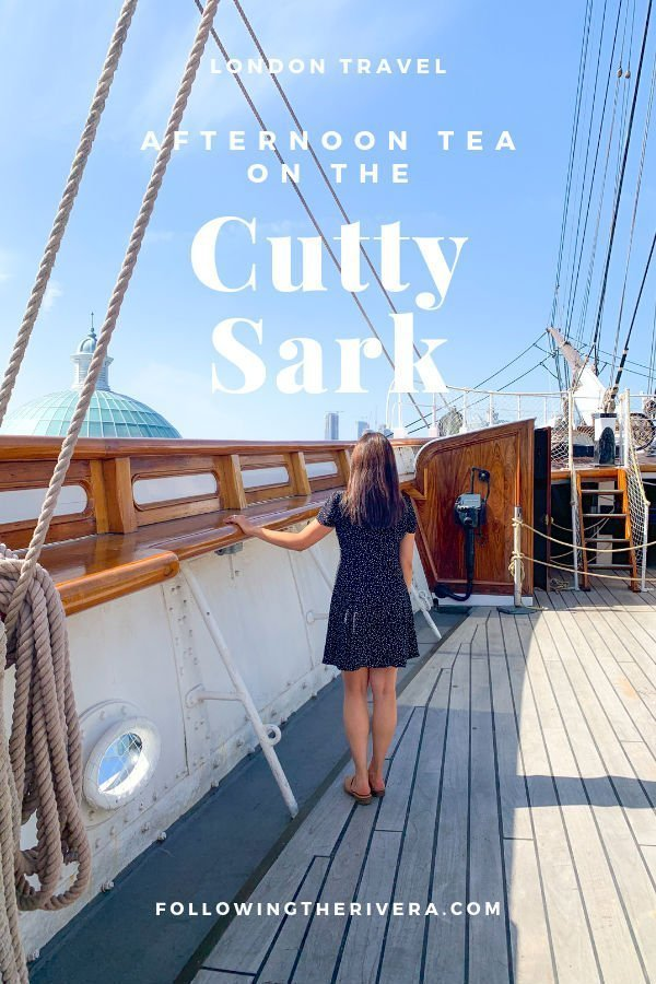 Tea drinking, eating and learning on board the Cutty Sark 6