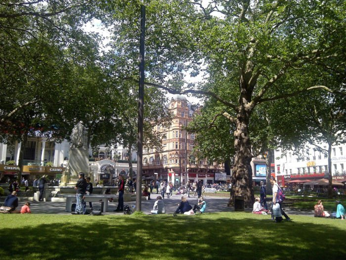Places to see in London - Leicester Square Gardens