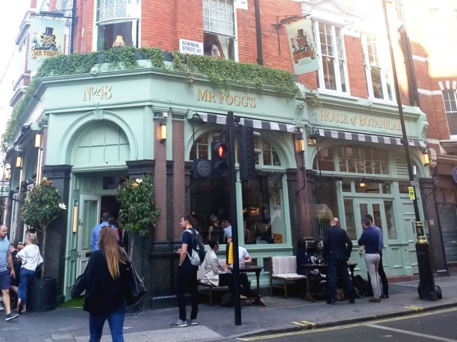 Mr Fogg's Botannicals - Goodge Street London