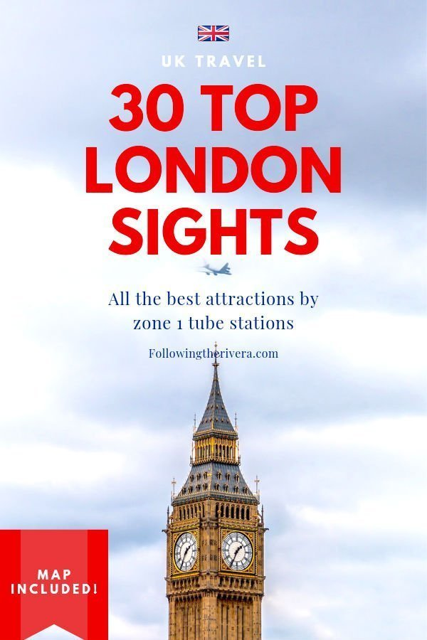 30 sights to see in London by zone 1 tube stations 18