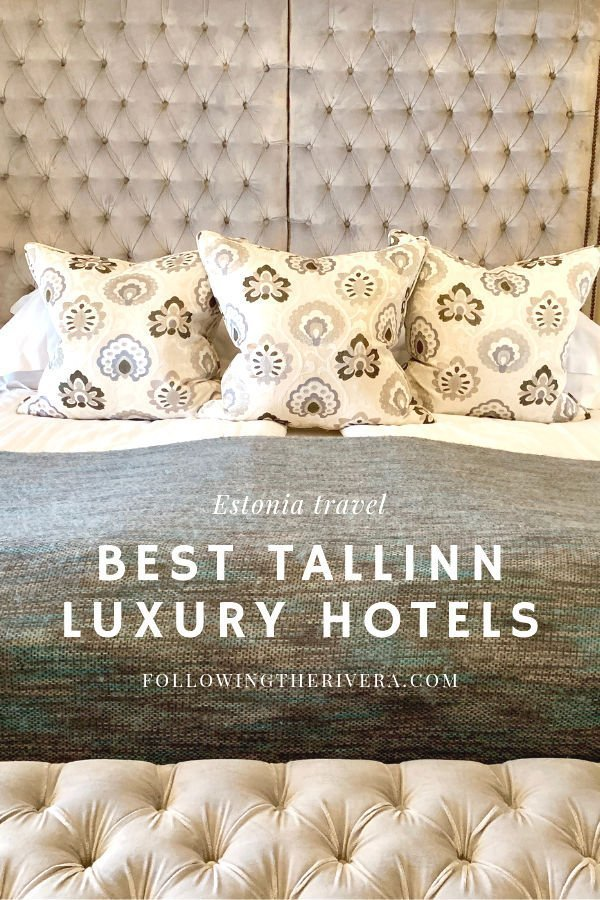 Luxury travel in Tallinn — 2 beautiful hotels in the city center 12