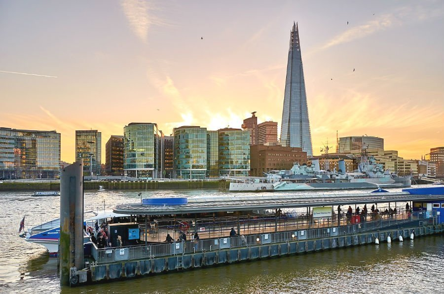Best zone 1 London attractions - The Shard in London Bridge