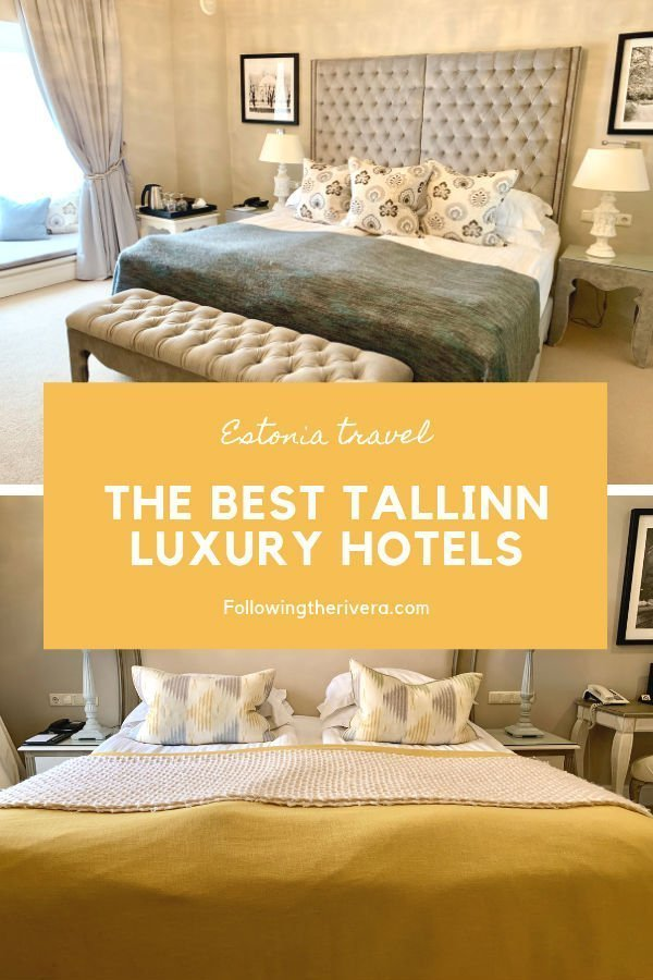 Luxury travel in Tallinn — 2 beautiful hotels in the city center 14