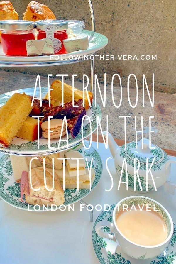 Tea drinking, eating and learning on board the Cutty Sark 7