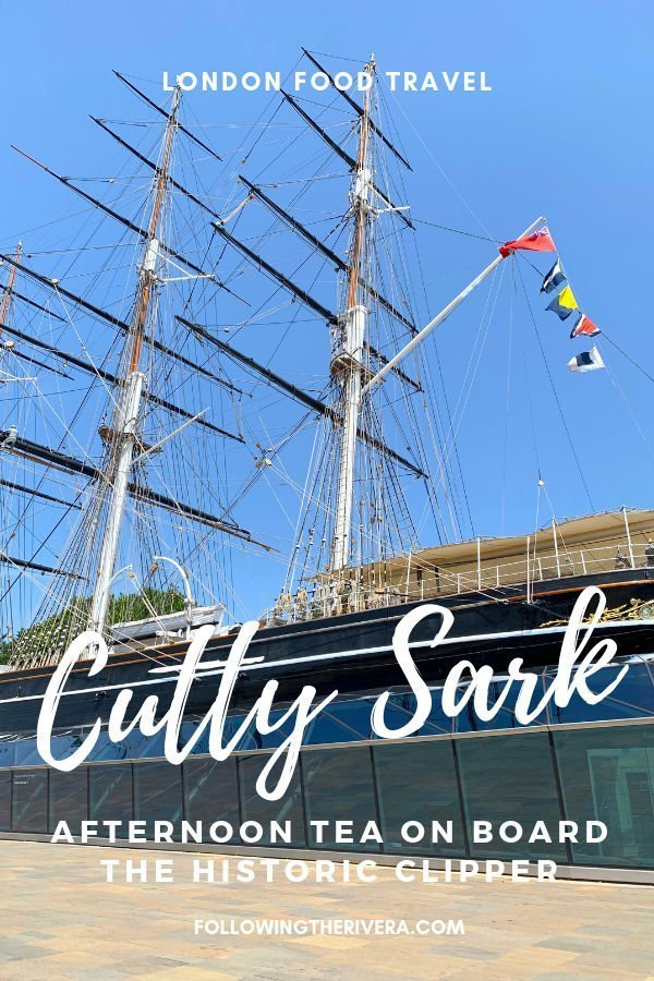 Tea drinking, eating and learning on board the Cutty Sark 8
