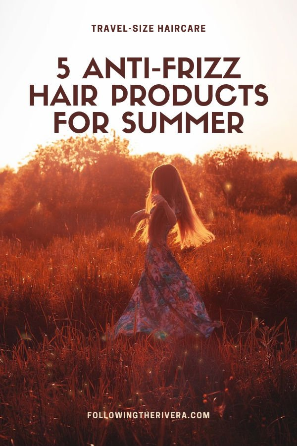 5 anti-frizz products for sleek, sexy summer hair 1