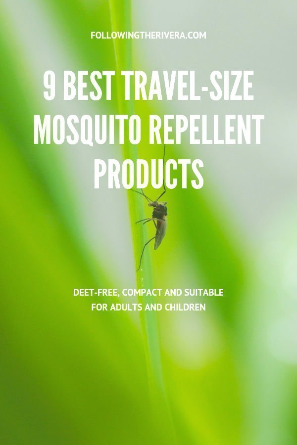 9 seriously good travel-size mosquito repellents 3