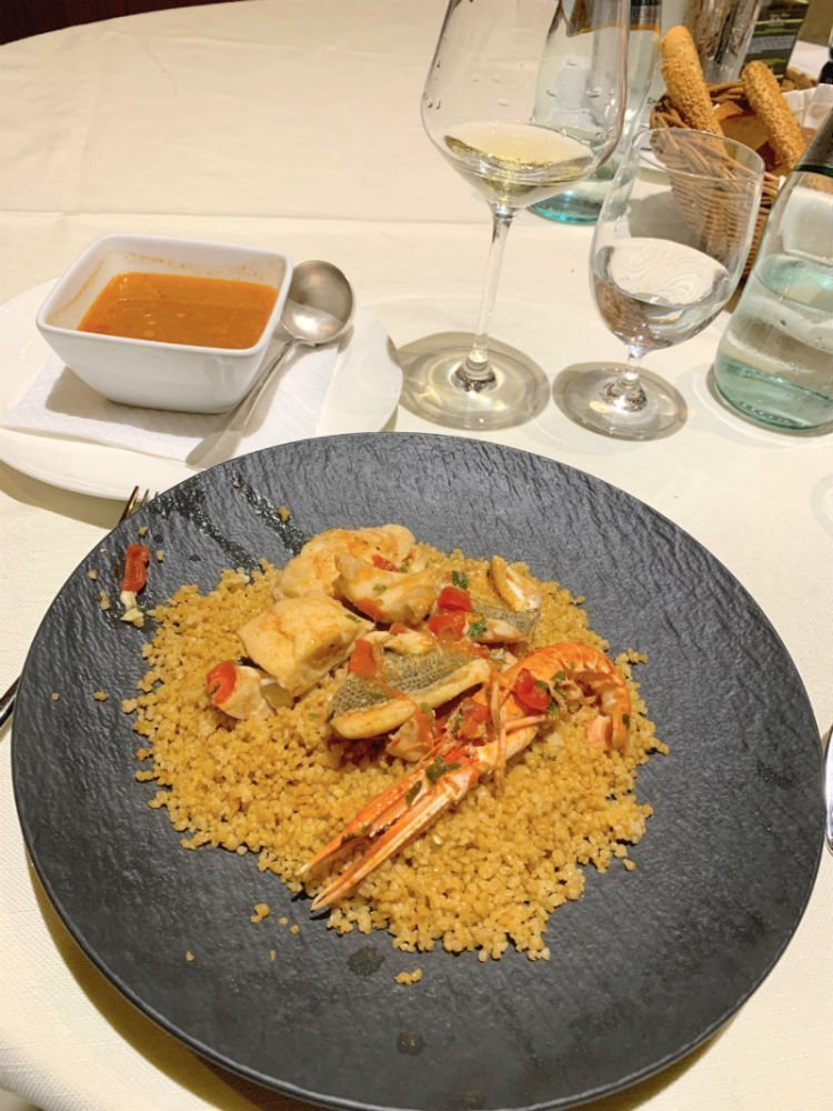 Fish couscous at La Bettola - Sicily road trip