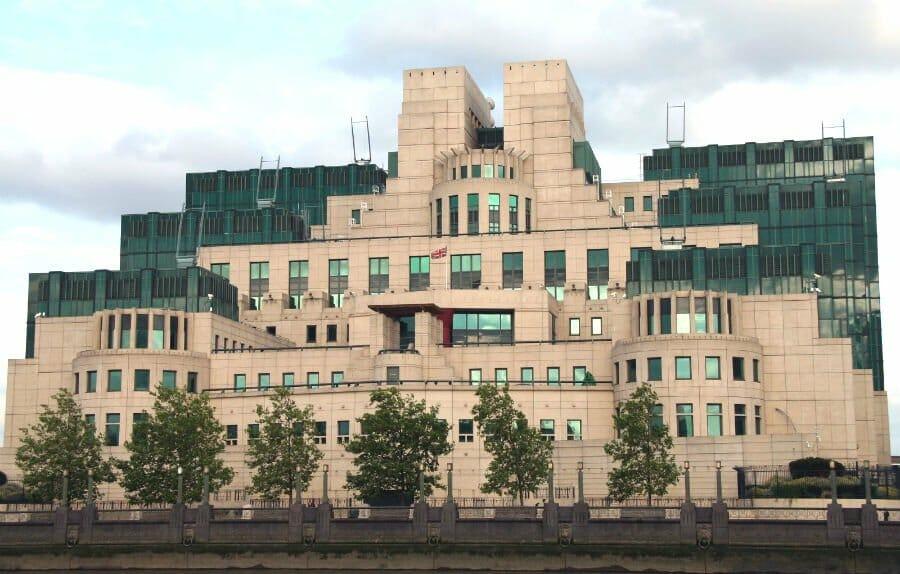 James Bond film locations in London - MI6 building