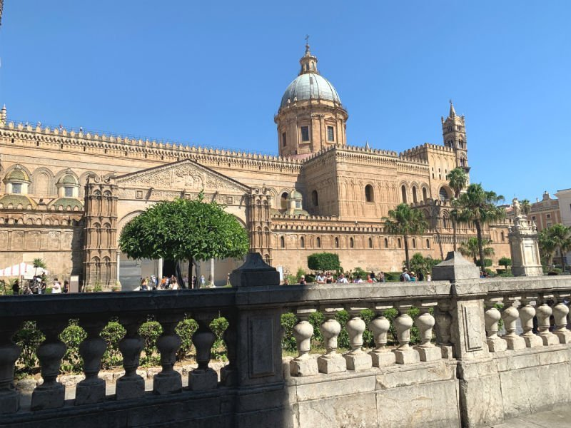 Palermo Cathedral from afar