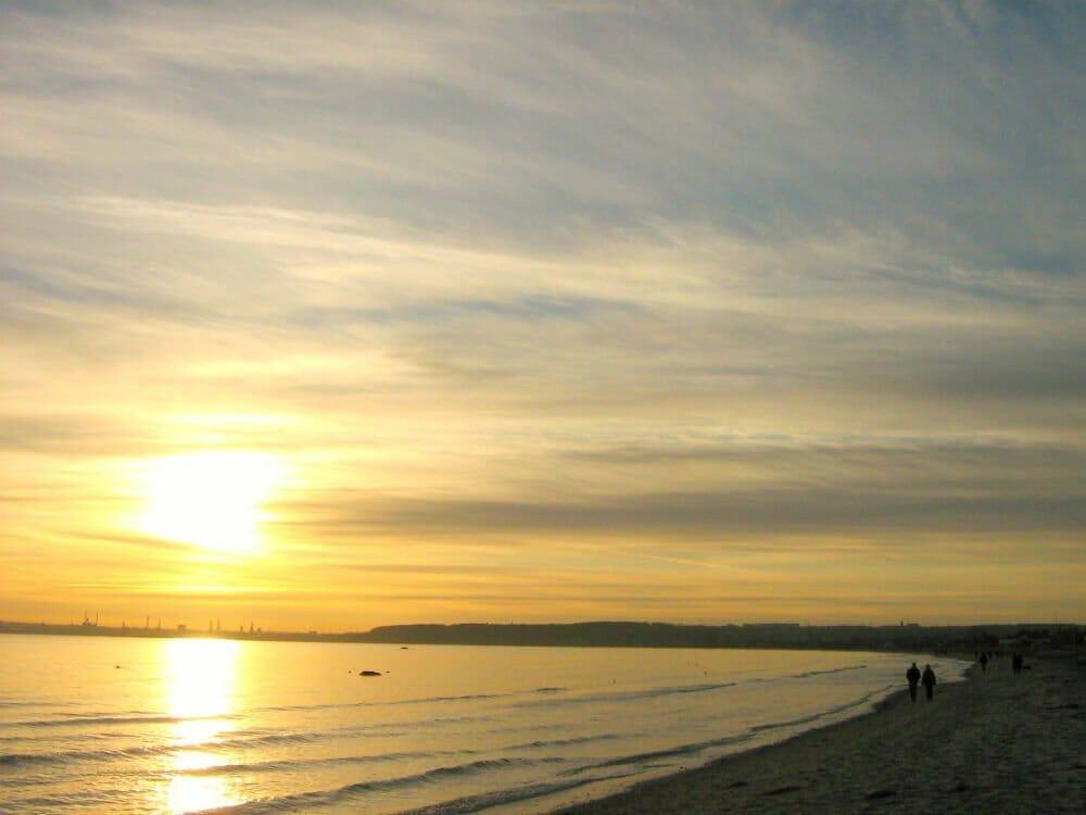 Risskov Beach Aarhus - Fall in Europe