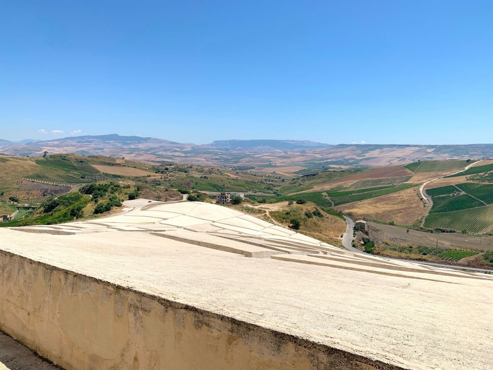 The covered town of Gibellina - Agrigento to Palermo Sicily road trip