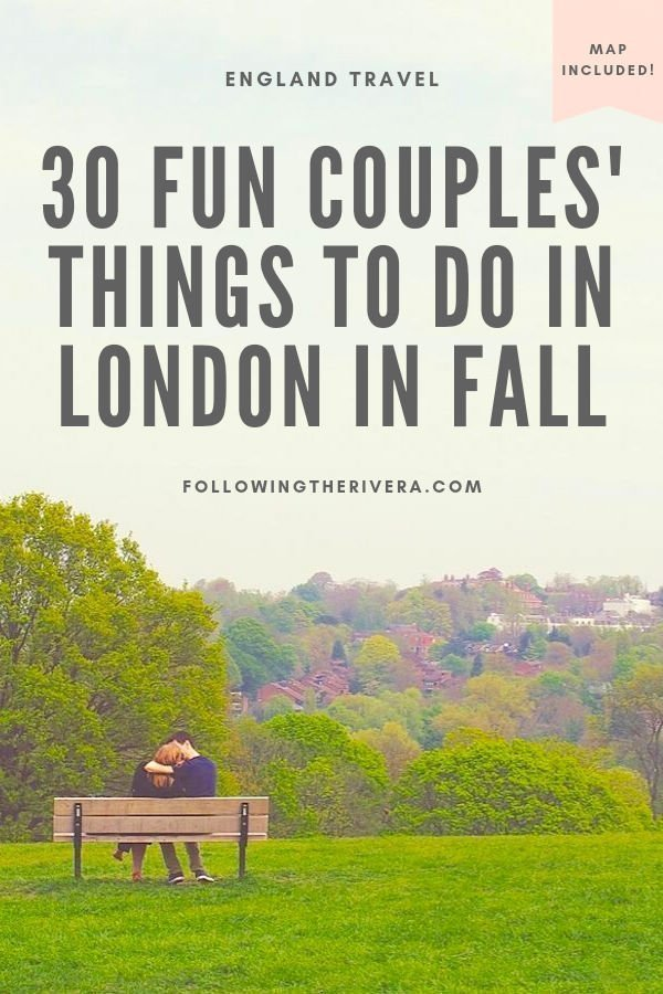 30 fun fall activities to do with your other half in London 16