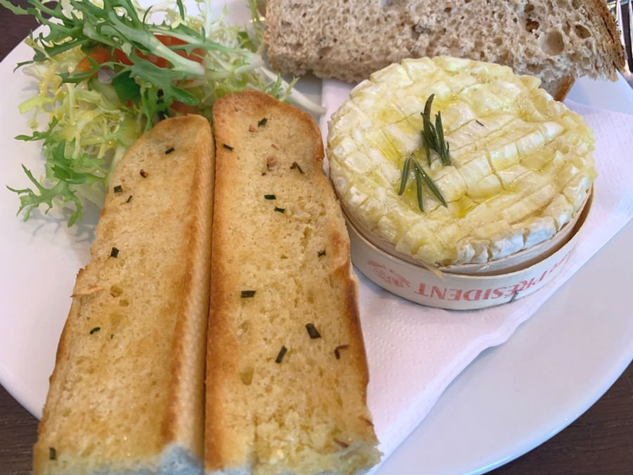Baked camembert at The Waterhead - Where to stay in the Lake District