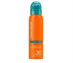 Lancaster Sun Sport Invisible Face Mist SPF30 100 ml - travel size sunscreen mists