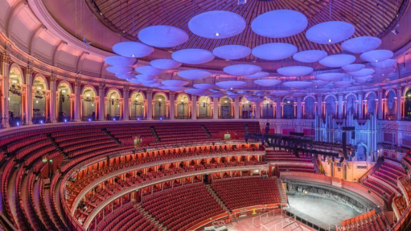 Inside the Royal Albert Hall