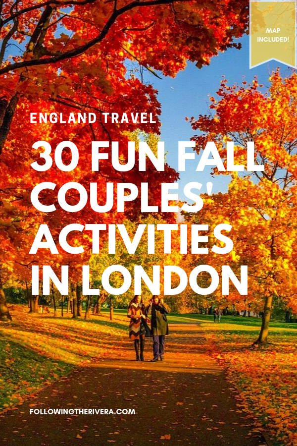30 fun fall activities to do with your other half in London 18